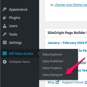 WP Data Access - Data Designer